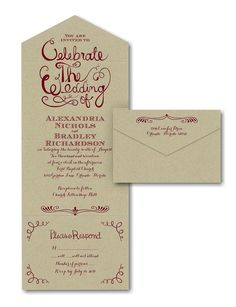 Celebrate The Wedding Seal N Send Invitation