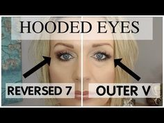 Today I will explain as best as I can how to deal with the outer V if you have hooded, droopy eyes.For this purpose I call the outer V a reversed 7 as I thin...