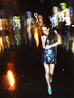 Electrically Vibrant Editorials - Igor Oussenko's One Night in Bangkok Shows Where the Party's At (GALLERY)