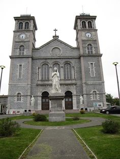 Have some good memories visiting with my Great Aunt who lived in the Convent next door/ Newfoundland Canada, Newfoundland And Labrador, Canada Trip, Canada Travel, Beautiful Islands, Beautiful Places, Mists Of Avalon, Catholic Churches, Family Destinations