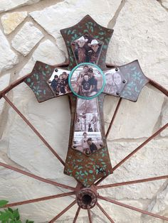 Large Photo Cross by SignsBYDebbieHess on Etsy