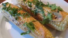 Grilled Corn on the Cob with Smokey Chili Lime Vegan Mayo. #veganrecipe #memorialdayfood