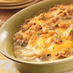 Potato Sausage Casserole Recipe...use gf cream of mushroom soup...Progresso makes one