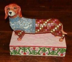 Jim Shore Longfellow Dog Figurine #V4004851 - Heartwood Creek in Collectibles, Decorative Collectibles, Decorative Collectible Brands | eBay