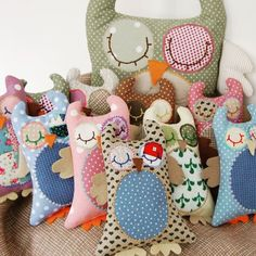 Baby Owls! www.facebook.com/mamaloops or mamaloops11 on Etsy