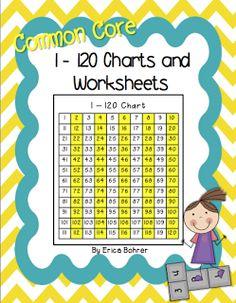 Erica Bohrer's First Grade: 120 chart activities