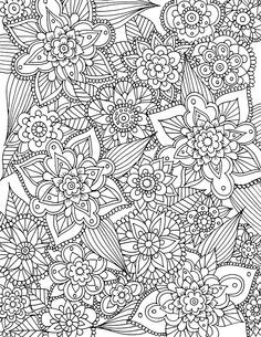 Free Spring Coloring Page Printable Download
