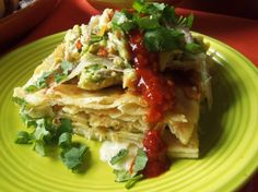 Seafood Enchilada Casserole   Hispanic Kitchen