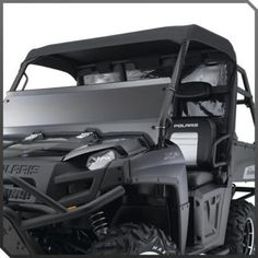 BLACK CANVAS ROOF TOP 2013 POLARIS RANGER MIDSIZE 800 EFI 400 500 /& EV Bimini
