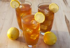 Looks like tea, but tastes like lemonade! The brown sugar in this recipe gives fresh lemonade a boost of flavor.  Perfect to serve on hot days or as a new offering at your lemonade stand.