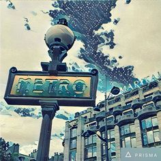 Next up in the magic filter app list is Prisma. While I'm impressed with its capabilities, I feel overwhelmed with choice; there are too many filters to really be able to gauge what each one w… I Feel Overwhelmed, Paris Metro, Paris France, Filters, Department Store, Feelings, City, Instagram Posts, Artwork