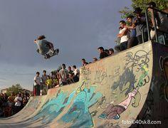El australiano Buggs Fardel voló el que más alto en el Mungiako skatepark omenaldia #mungiask8park4ever