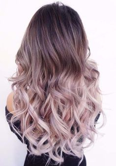 Here you can see the breathtaking and stunning shades of light purple hair colors in ombre styles to wear in 2018. This is one of the most creative ombre hair color ideas ever that we have seen today. Moreover, this style is perfect for those ladies who want to sport unique kinds of hair colors for stunning looks.