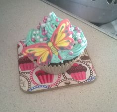 Cupcake for MacMillian's 'Night In' fundraising evening