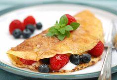 Vegan Pancakes (vegetarian and vegan). From Our Lizzy Cookery School. Scotch Pancakes, Vegetarian Pancakes, Fruit Pancakes, Organic Yogurt, Vegan Baking, Vegan Food, Poached Pears, Tofu Scramble, Pancake Day