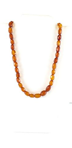 Antique Faceted Baltic Honey Amber Beads by AntiqueJewelryForFun #ambernecklace #balticamber #amberbeads #facetedamber #etsygift #vogueteam