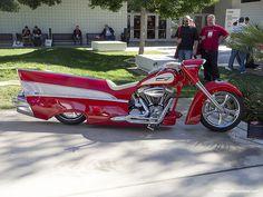 Harley Davidson Bel Air.