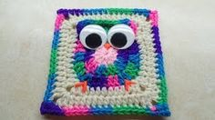 sunflower crochet throw - YouTube