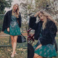 Ana Luísa Braun - Chicwish Dress, Miu Bag - Autumn mood