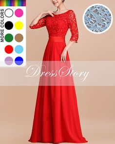 Hey, I found this really awesome Etsy listing at https://www.etsy.com/listing/186585709/red-lace-chiffon-dress-lace-maxi-dress
