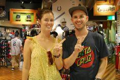 【大阪店】2014.06.16 フランスご出身でニューヨークが大好きなお客様です!!ユーイングとニックスのTシャツとソックス、絶対似合いますよ^^スナップありがとうございます!