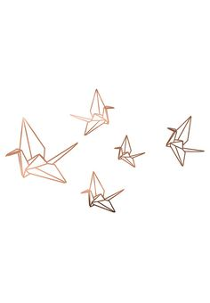 Really Nice Things copper wall stickers