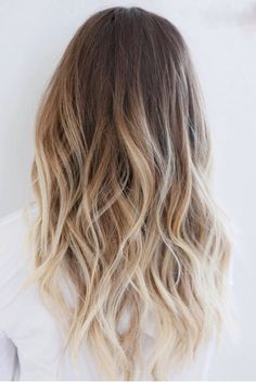 Brown Blonde Balayage Ombré...pretty for summertime