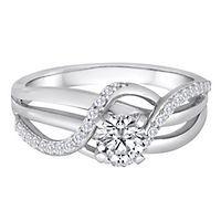 Helzberg Diamond Symphonies® 3/4 ct. tw. Diamond Engagement Ring in 14K Gold