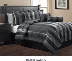 7 Piece King Sapphire Jacquard Comforter Set ....love this one....need help!