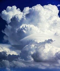 White Clouds / Blue Sky