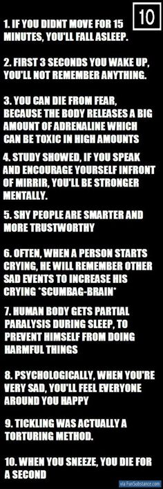 Bahahaha I'm not saying that this isn't accurate but that seventh one can't be true in my case because I've been known to do some pretty freaky stuff in my sleep hahaha am I right Stewart? @Sierra Stewart ;);p