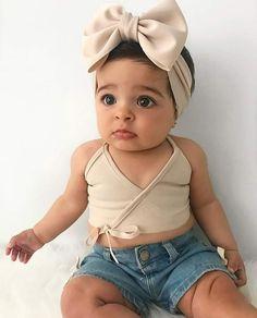 Baby Fashion Girl Newborn Clothing Children 62 Ideas For 2019 Fashion Kids, Baby Girl Fashion, Toddler Fashion, Cute Baby Girl Outfits, Cute Baby Clothes, Toddler Outfits, Kids Outfits, Black Baby Girls, Bebe Baby