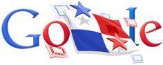 Google Doodle: Independence Day Panama 2010