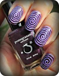 Purple Spirals!!!