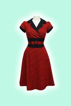 The Jolene Dress in red is a foxy little creation made to accentuate the bust line and tuck in the middle. You know you love it. $96.00