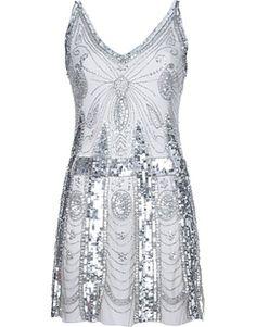 PIERRE BALMAIN sequin dress