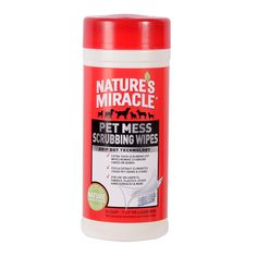 Nature's Miracle cat Mess Scrubbing Wipes >>> Don't get left behind, see this great cat product : Cat litter