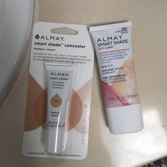 Almay Smart Shade Duo Brand new.. Almay.. Smart Shade... 2 great products. Concealer (medium) and Anti-aging foundation (light/medium). Almay Makeup