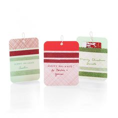 Sparkling Gift Tags for Gift Cards and more on MarthaStewart.com