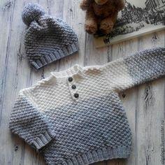 Кофты и свитера ручной работы. Вязаный детский свитер.. Olga Loga. Интернет-магазин Ярмарка Мастеров. Детский свитер
