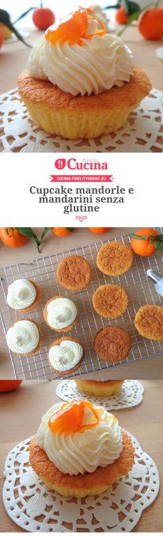 Cupcake mandorle e mandarini senza glutine della nostra utente Magdalena. Unisciti alla nostra Community ed invia le tue ricette!