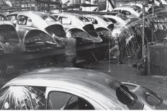 VW Beetle Factory sparks