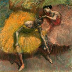 Deux Danseuses Jaunes et Roses Edgar Degas Weitere Werke des Künstlers