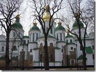 SANTA SOFÍA DE KIEV. s.XII. Trece cúpulas