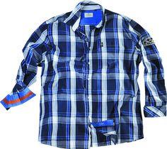 [img-10116-left-thickbox_default] Chemise Grande taille pour homme composé de 100 % Coton   Très mode, cette chemise à carreaux pour homme qui veut  être l'homme  Manches Longues  Col souple  Allsize vous propose cette chemise fashion grande taille pour tous les hommes forts dans les tailles L au 8 XL
