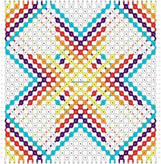 Normal friendship bracelet pattern variation added by andioopeth. Diy Jewelry, Jewelry Making, Jewlery, Diy Friendship Bracelets Patterns, Summer Bracelets, Bracelet Tutorial, Bracelet Designs, Bracelet Making, Weaving