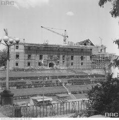 1974 Odbudowa Zamku Królewskiego