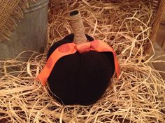 Black and Orange Sweater Pumpkin,Gift For Her,Holiday Decor,Halloween Pumpkin,Halloween Decoration,Fall Pumpkin,Seasonal Decor,Fall Display by StylingsByMaria on Etsy https://www.etsy.com/listing/247184933/black-and-orange-sweater-pumpkingift-for