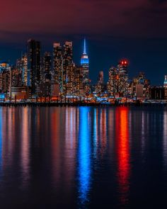 Likes, 58 Comments - New York City Lights At Night, Night City, Cityscape Photography, City Photography, Photographie New York, Places In Usa, Bronx Nyc, City Background, Dream City