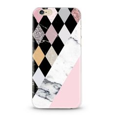 Marble & Mosaic iPhone 7 Case marble iPhone 6 by HoolaBoutique